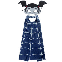 vampirina Mask+cape superman spiderman kids superhero capes Cosplay girls costume suits for boys party for kid 2-10Y Freeshiping(China)