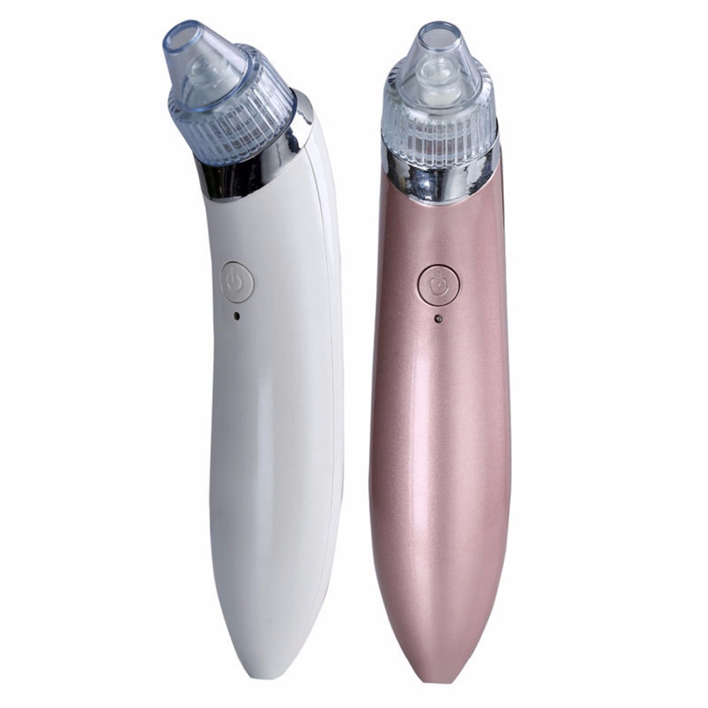 Elektrisk Mini Blackhead Remover Facial Dead Skin Acne Vakuumsugning Blackhead Fjernelse Skin Pore Cleaner Beauty Machine