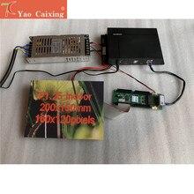 Yaocaixing – boîte d'expédition gratuite TB2 avec module Led d'intérieur P1.25, carte de réception, alimentation électrique
