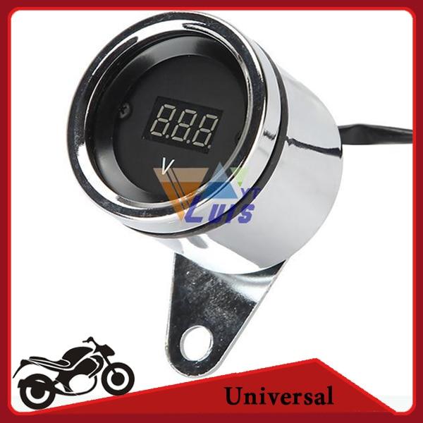 Motorcycle Digital Meter : Popular motorcycle voltage gauge buy cheap