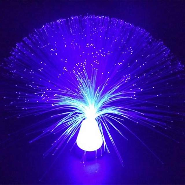 Us 6 79 13 Off Beautiful Autism Calming Sensory Led Light Lamp Multicolour Fibre Optic Ice Relax Changing Led Light In Optic Fiber Lights From