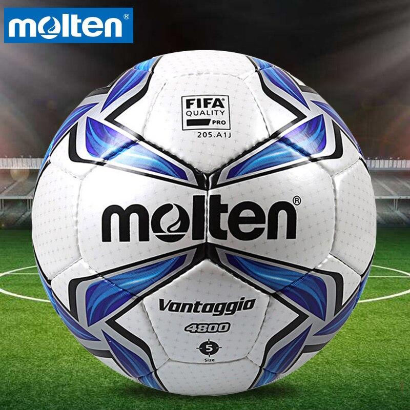 Original Molten F5V4800 Size 5 PU Match Ball Professional football soccer goal balls of football ball