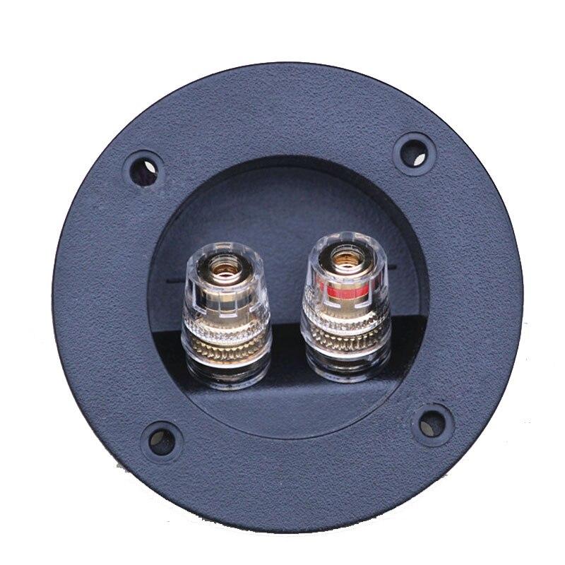 2stk Högkvalitetshögtalare Crystal Junction Box Två kontakter - Datorkablar och kontakter