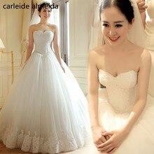 Vestido de Noiva Sweetheart Ball Gown Wedding Dress 2018 Manik Lace Bodice Gaun Perkahwinan Vintaj Robe de Mariee