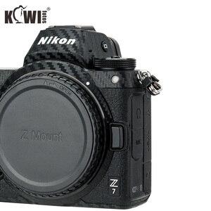 Image 2 - KIWIFOTOS נגד שריטות מצלמה גוף כיסוי סיבי פחמן סרט ערכת עבור ניקון Z7 Z6 3M מדבקה עם חילוף סרט מצלמות הגנה