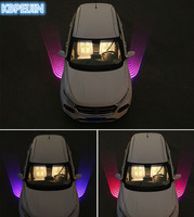 Car Styling Car Angel Wings lights LED welcome Projector Light for Toyota corolla rav4 camry prius hilux avensis Accessories