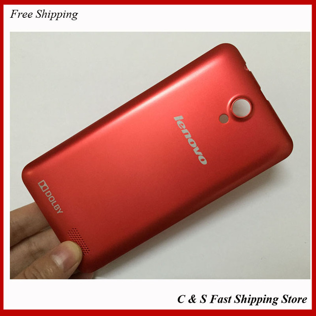 Original Battery door back case cover For lenovo A319 housing  red color with buttons free shipping with logo