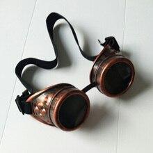 Инфракрасный imager Монокуляр сварки кибер круглые очки готика стимпанк Косплей антикварная вещь, викторианский Косплей зум бинокль
