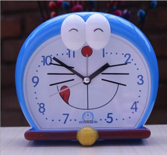 b950bf4f3c3 Dos desenhos animados relógio de mesa de cabeceira despertador digital com  luz noturna plástico relógios de