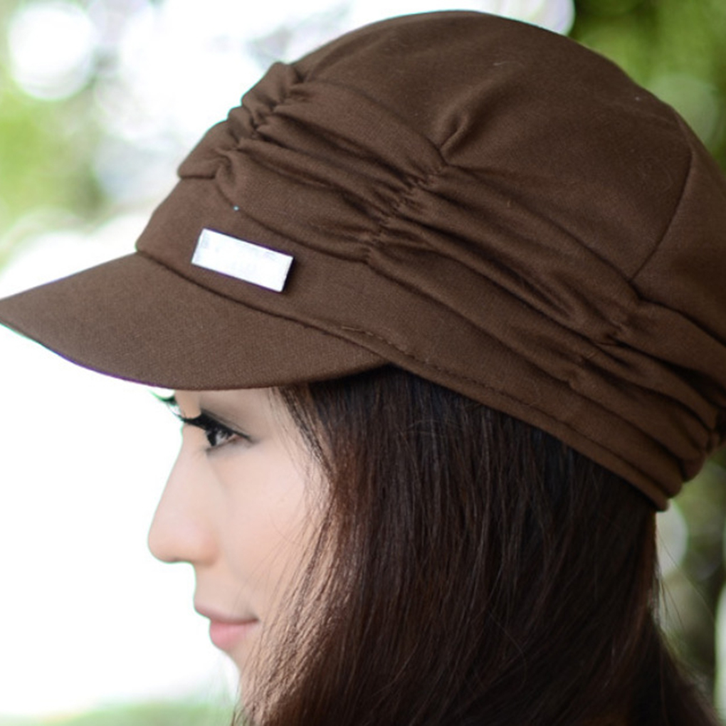 Colorful Women s Peaked Caps with Wrinkle Style Black Small Iron Decoration  Hats Leisure - TakoFashion - Women s Clothing   Fashion online shop 957df3fff2f8