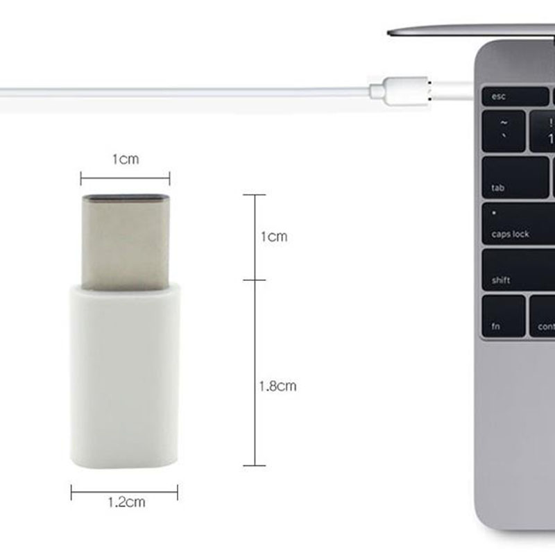 USB 3.1 Type-C Male to Micro USB 5pin Female Data Charger Adapter for Apple New Macbook 12 Inch Nokia N1 Nexus 6P Type C adapter