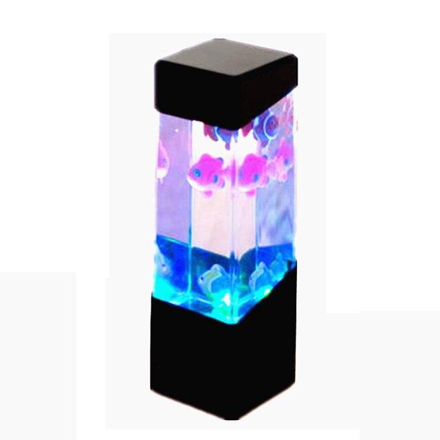 NOCM Acuario medusas tanque de agua Led luces lámpara ambiente ...