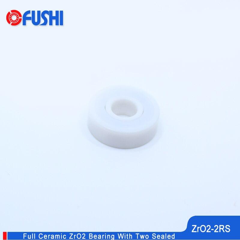 6005 roulement en céramique complet ZrO2 1 PC 25*47*12mm P5 6005RS Double étanche à la poussière 6005 RS 2RS roulements à billes en céramique 6005CE
