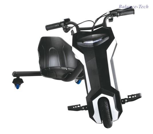 Электрические скутеры дрейф скутер 3 колеса детей elektrisch дрейф скутер 250 Вт 10-20 км 36 В заднее колесо красочные LED Kick Скутеры