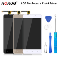 HORUG 100 AAAA Original LCD For Xiaomi Redmi 4 Pro 4 Prime Screen LCD Replacement Display