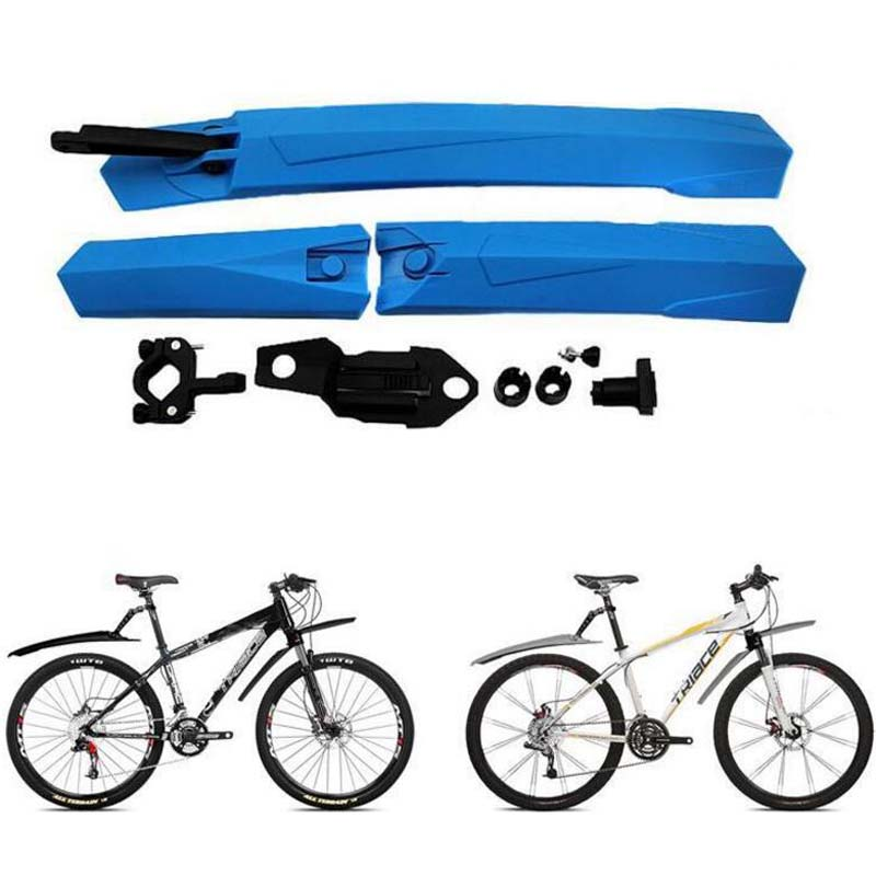 Light Weight Plastic Bike Folding Mountain Road Bike Front And
