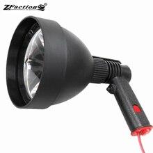 Импортный CREE XML2 T6 10 Вт 1200LM Профессиональный светодиодный Охота светильник светодиодный ручной Точечный светильник 12V 150 мм светодиодный Портативный светильник флэш-светильник