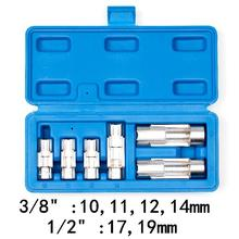 Шестигранное отверстие трубки гаечный ключ 10,11, 12,14, 17,19, 21 мм открытый конец ключ под конусную гайку набор