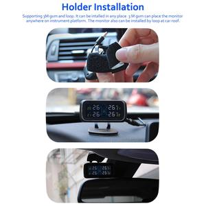 Image 5 - TPMS Car Electronics Wireless Tire Pressure Monitoring System With External Replaceable Battery Sensors LCD Display U903
