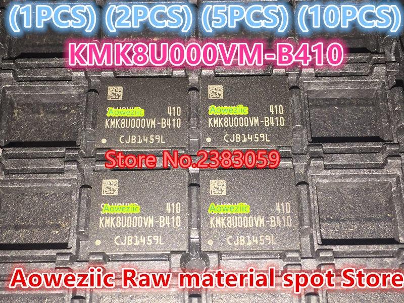 (1PCS) (2PCS) (5PCS) (10PCS) 100% new original   KMK8U000VM-B410  BGA   Memory chip  KMK8U000VM B410 1pcs 2pcs 5pcs 10pcs 100% new original kmr310001m b611 bga memory chip