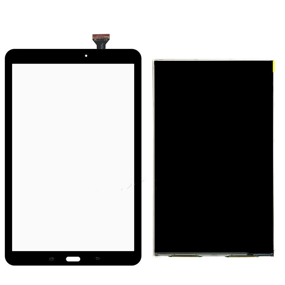 White Touch Screen Digitizer Glass Sensor + LCD Display Panel Screen For Samsung Galaxy Tab E T560 Free Shipping for samsung galaxy tab 4 10 1 sm t530 t531 t535 t530 touch screen digitizer lcd glass front panel 1 piece free shipping