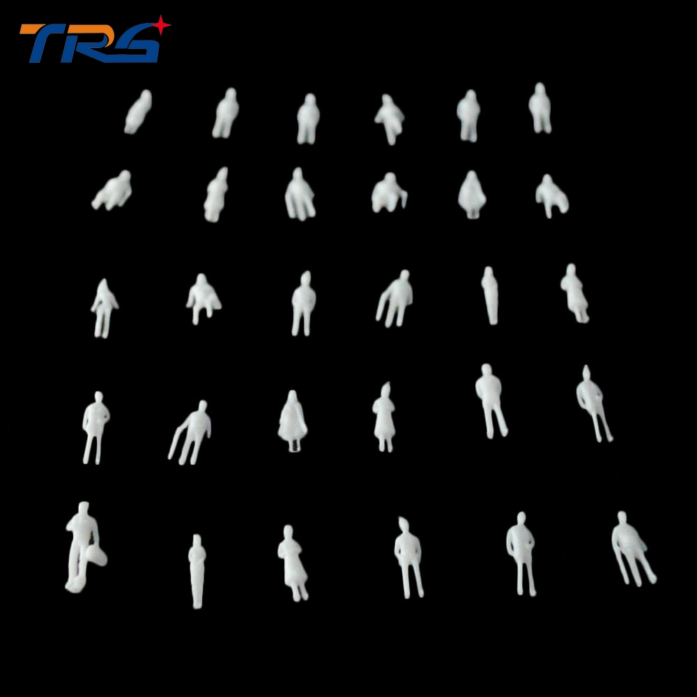 best selling 200PCS White unpainted Architectural 1 300 Scale Model Figures People