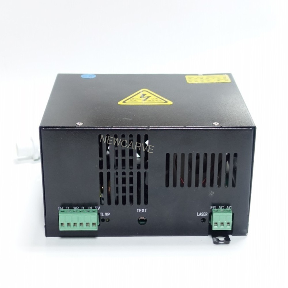 50W CO2 Laser Power Supply For 30W 40W Laser Tube HY-T50 NEWCARVE