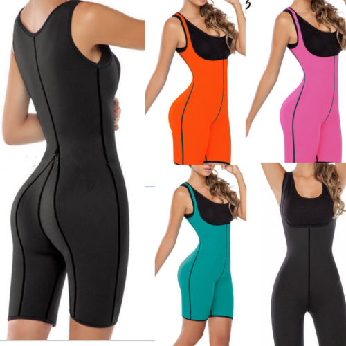 664385d6fc462 Palicy Womens Slimming Sweat Bodysuit Hot Neoprene Thermo Shapers Weight  Loss Full Body Sports Waist Training Corsets On Sale