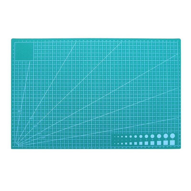 PVC Cutting Mat DIY Craft Patchwork Hobby Cut Pad Tool Double-sided Manualidades Cutting Board Escolar School Office Oficina