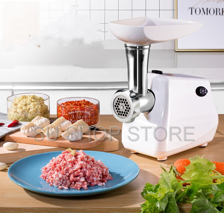 Home Electric Meat Grinder Sausage Stuffer Mincer Heavy Duty Household Mincer
