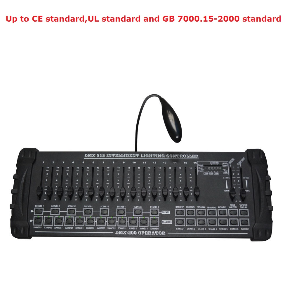 1 Unit DMX 200 Controller DJ Lighting Equipment DMX 512 Console Stage Lighting For LED Par Moving Head Spotlights DJ Controller dr512 dr 512 dr 512 drum cartridge for konica minolta bizhub c364 c284 c224 c454 c554 image unit with chip and opc