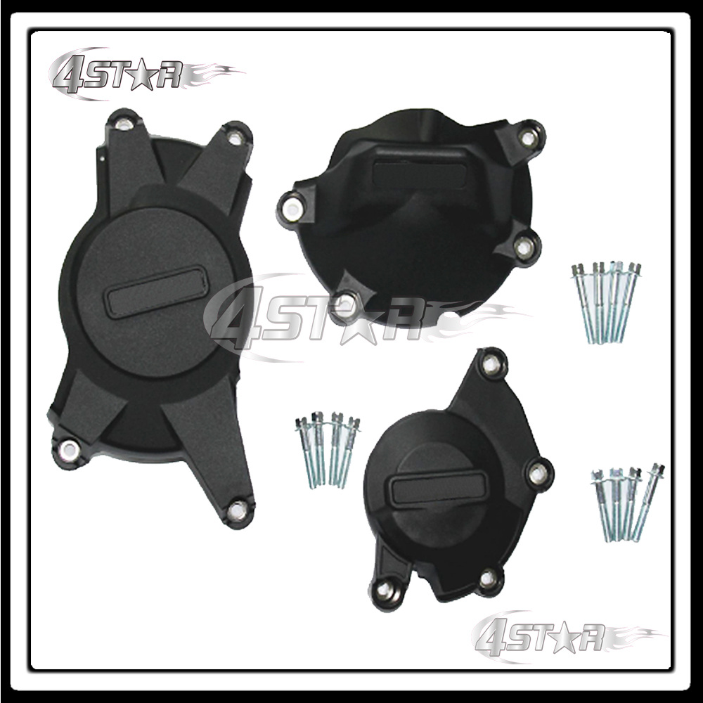 Motorcycle Racing Set Engine Cover Protection Case Kit For GSXR1000 GSXR 1000 2009 2010 2011 2012 2013 2014 2015 car rear trunk security shield shade cargo cover for nissan qashqai 2008 2009 2010 2011 2012 2013 black beige