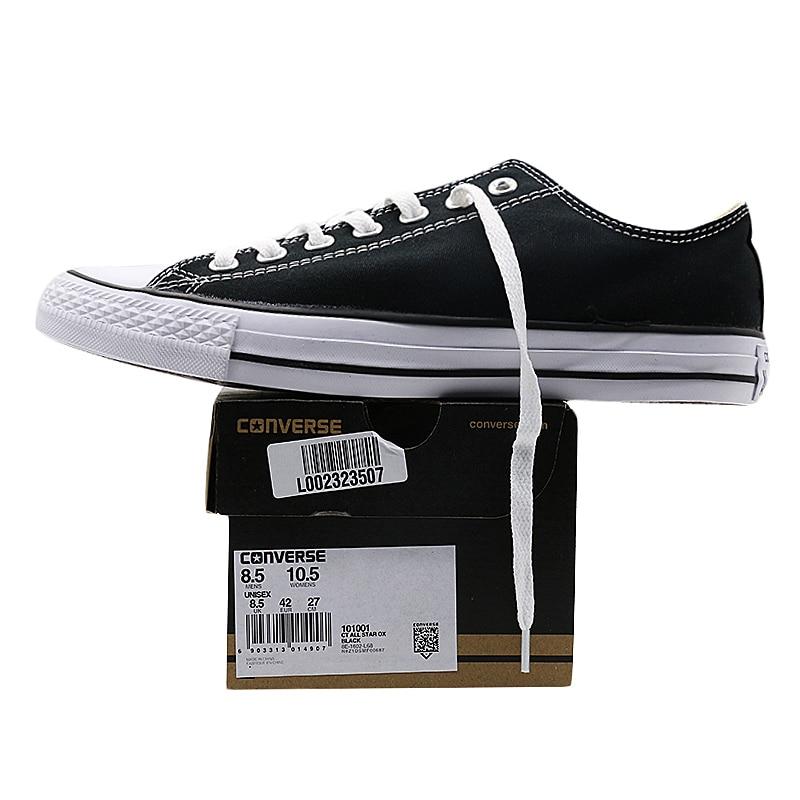 Nouvelle D'origine Converse all star de toile chaussures hommes et femmes sneakers classique de Planche À Roulettes Chaussures - 5