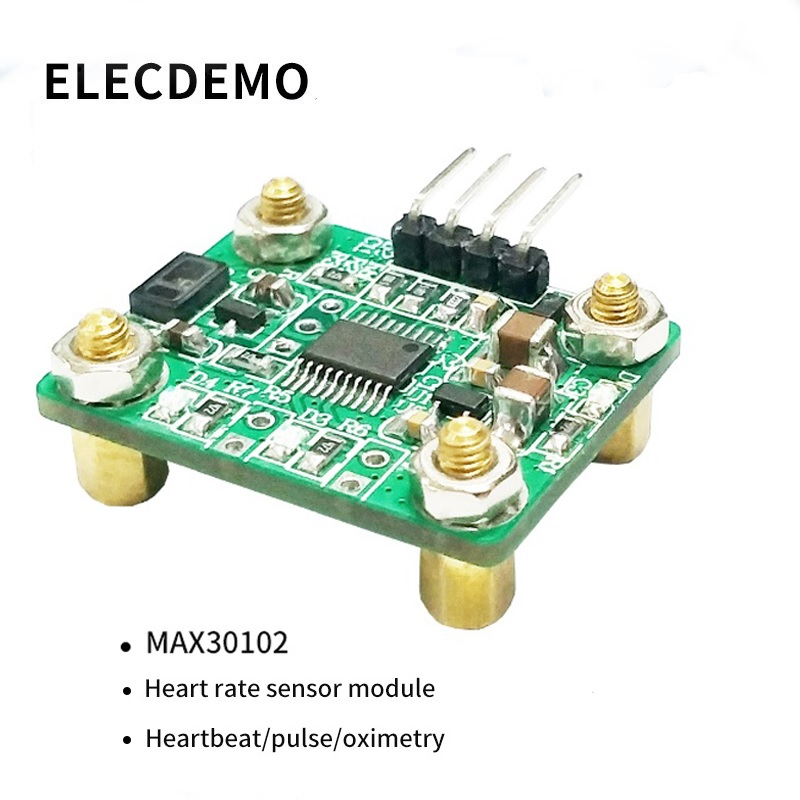 MAX30102 Heart rate sensor module heartbeat pulse oximetry  computer direct reading-in Demo Board Accessories from Computer & Office