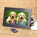 "Picture Frame 10.1 ""Android 4.4 HD TFT-LCD 1024*600 Digital Photo Alarm Quadro Relógio MP3 MP4 Movie Player com Controle Remoto de Desktop"