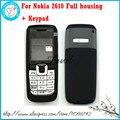 Для Nokia 2610 запасные части Высокого Качества Новый Полный Полный Мобильный Телефон дома cover case + Клавиатура + Инструменты, бесплатная доставка