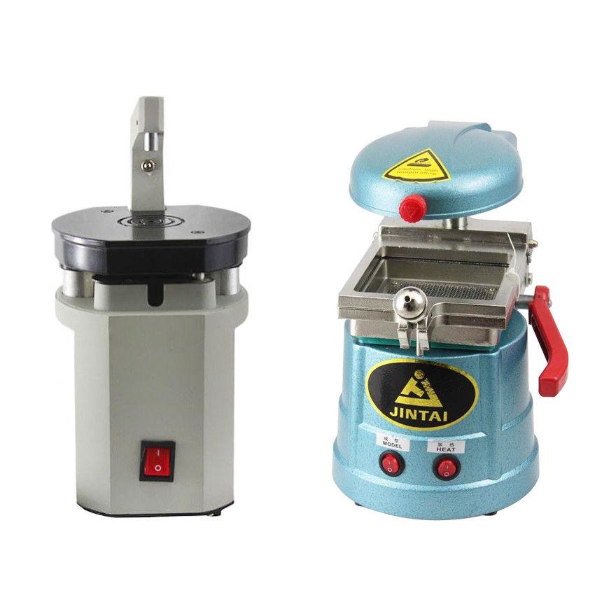 Dental Lab Vacuum Forming Heat Molding Material Former+Laser Pindex Dril Machine