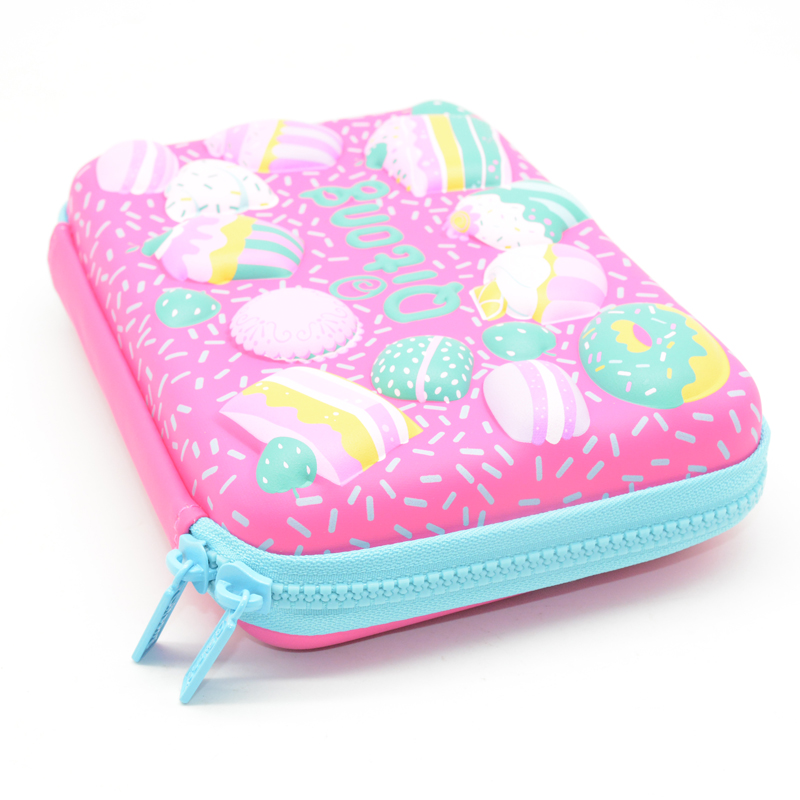 Kawaii Pencil Case Ice Cream Kalem Kutusu Etui Pencilcase Box Estuche Escolar Papeleria Lapices School Supplies 3D Girl все цены
