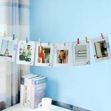 DIY Kraft Paper Photo Frame For Pictures Vintage Frame Photo DIY Baby Photo Holder Wedding Photo Frame Wall Decor