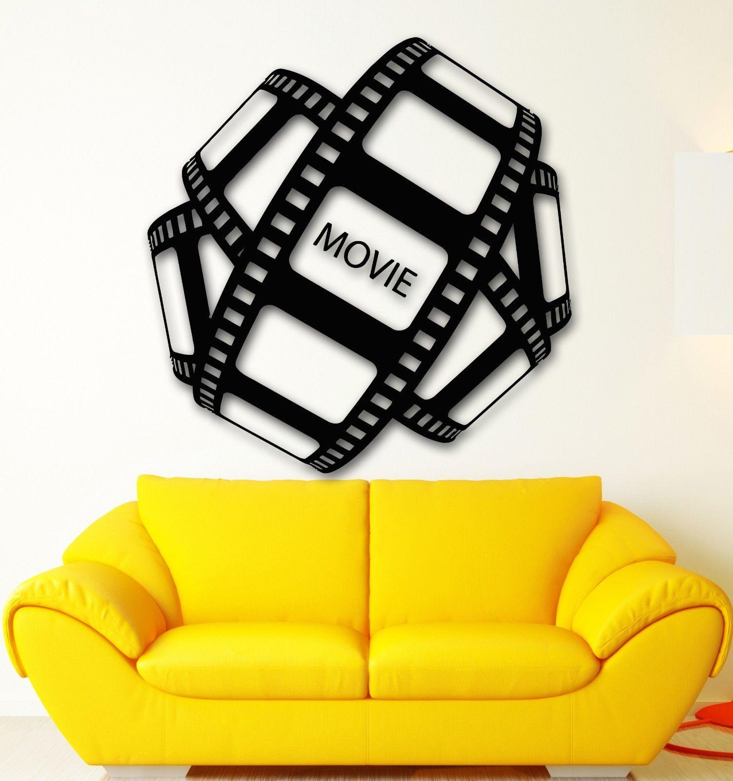 G094 Wall Sticker Vinyl Decal Movie Film Hollywood Cinema TV Decor ...