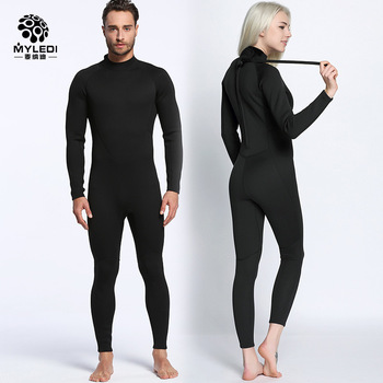 Lovers 2MM Black Wetsuit Siamese Surf Clothing Anti Cold Waterproof Outdoor Beach Swimsuit Diving Suit Size S-XXL MY056 MY057