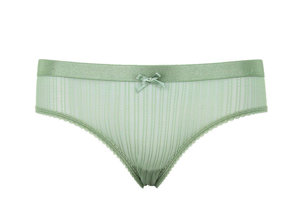 Women Panties Underwear Ultra thin Viscose Seamless Briefs For Women's Comfort low Rise Ruffles Sexy Lingerie Summer YS001