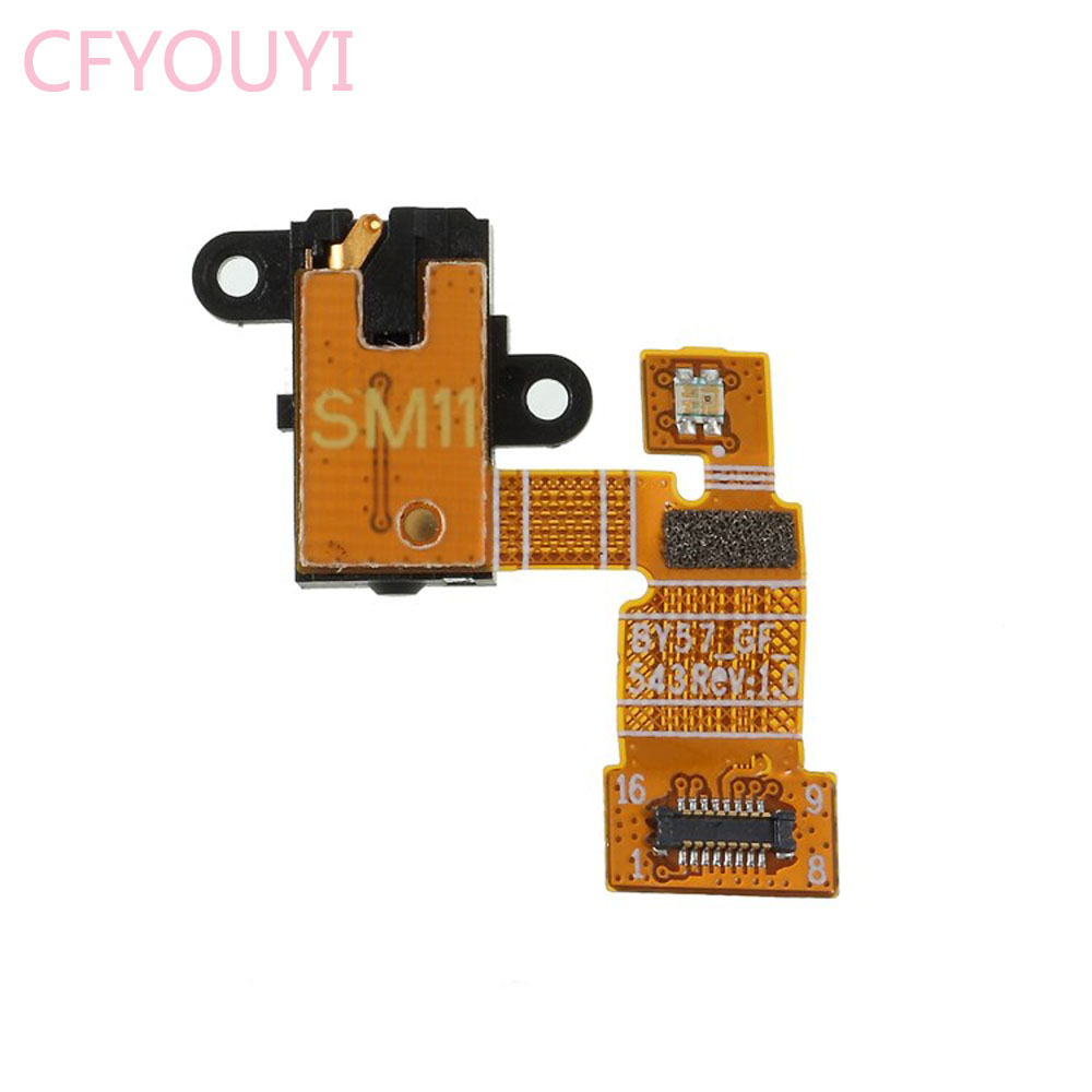 5pcslot For Sony Xperia XA1XA1 Ultra Earphone Headphone Audio Jack Flex Cable Replacement Part For Xperia XA1 Plus