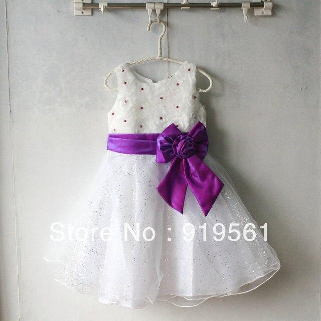 Silk Chiffon Flower Girl Dress