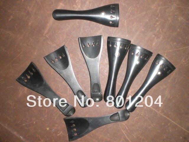 8 PCs Quality Black Violin Ebony Tail Piece fiddle parts