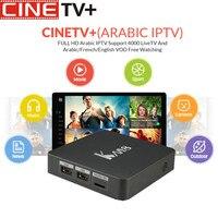 CINE ТВ KM8 Pro Smart ТВ Box Android 6,0 ТВ Box Amlogic S912 Восьмиядерный Процессор Поддержка Bluetooth 4,0 Dual Band Wi Fi Декодер каналов кабельного телевидения