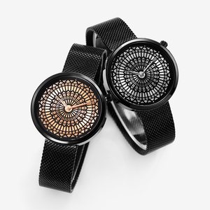 Image 3 - Shengke高級ブランド腕時計女性のファッションドレスクォーツウォッチレディーメッシュストラップ防水時計レロジオfeminino