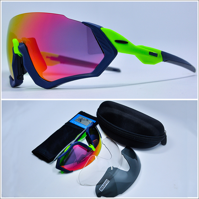 1cf7cec4a47 Best Price 2018 NEW Polarized Cycling Glasses 3 lens UV400 Bicycle Cycling  Sunglasses Men Sport Road
