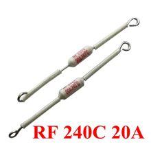 цена на 10pcs RF 10A/130C/155C/165C/185C 15A/20A/185C 20A/216C/240C Rice Cooker Ceramic Thermal Fuse Cutoff
