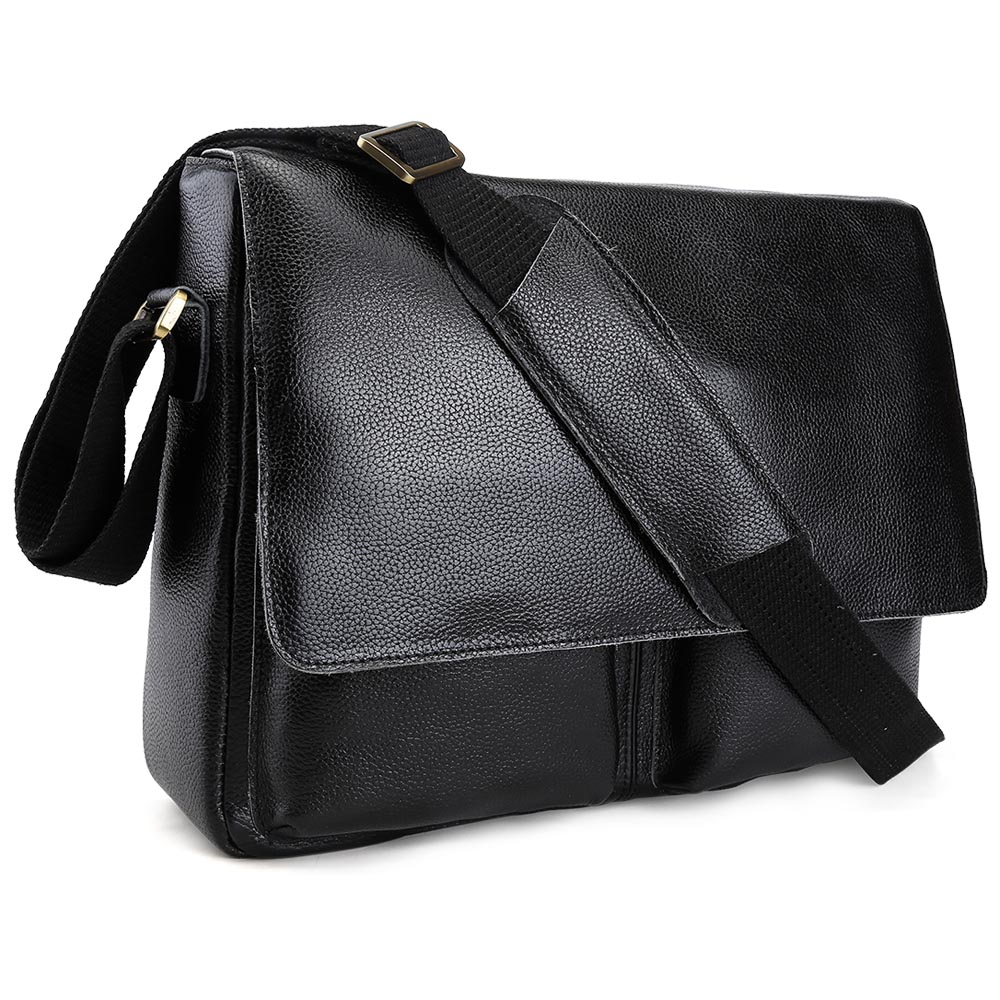 2017 fashion casual messenger bags Handmade Men s 100 Cowhide font b Leather b font bags